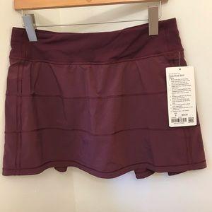 NWT Lululemon Pace Rival Skirt